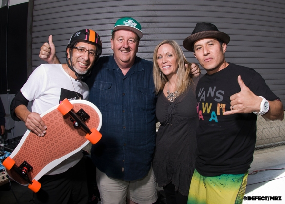 Eddie, Steve Van Doren, Dawn Elguera and Christian