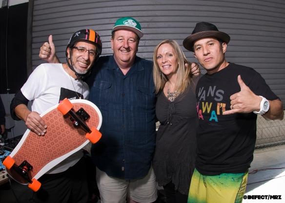 Eddie, Steve Van Doren, Dawn Elguera and Christian