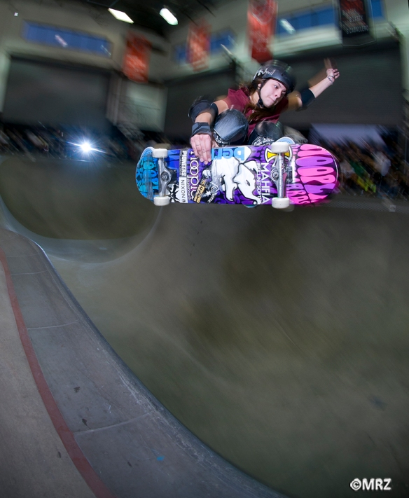Nora Vasconcellos- frontside hip transfer