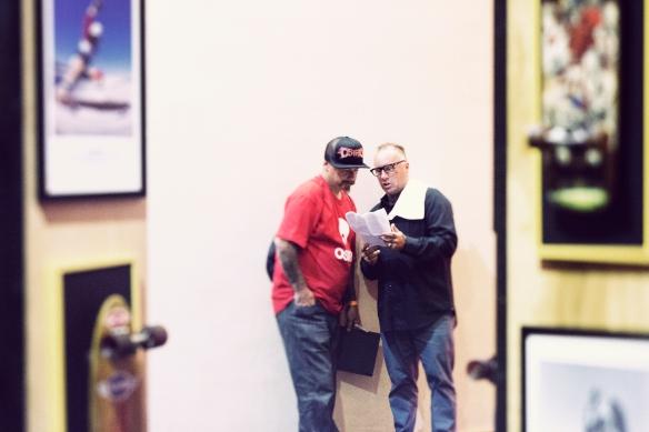 Dennis Martinez and Jay Adams