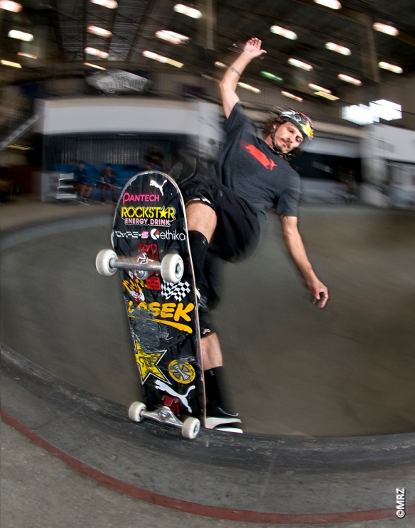 Bucky Lasek- East coast combat ready, multi-faceted, lethal weapon.