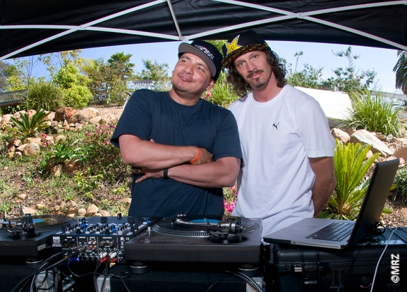 Mixmaster Mike and Bucky