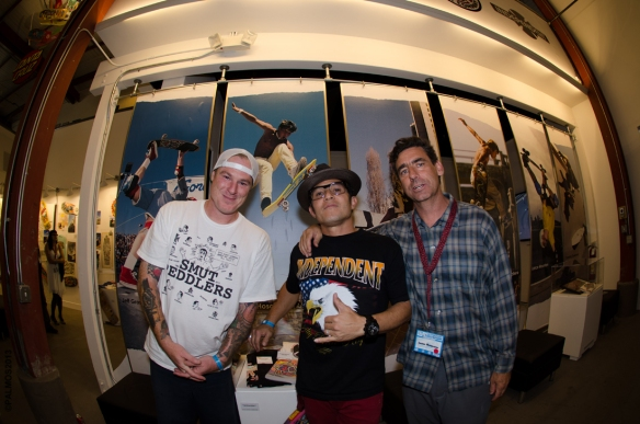 Jeff Grosso, Christian Hosoi and Lance Mountain