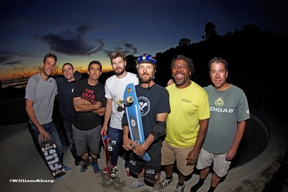 Arto, Wesley, Lance, Rune, Brad, Freddie De Sota, Steve