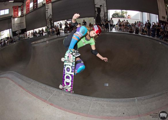 Alana Smith - Blunt into 3rd Place Pro