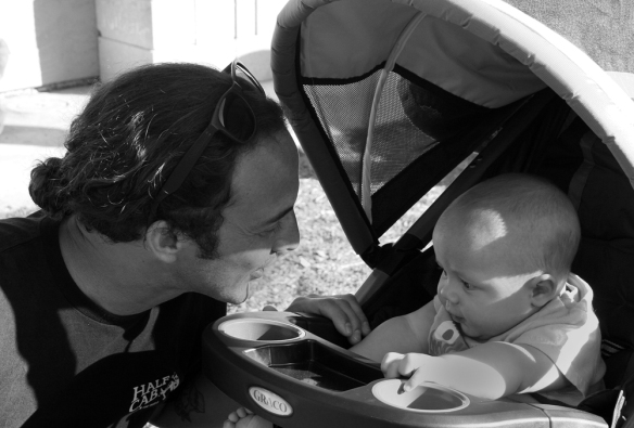 Chris Gonzales and son-- Cassius --discuss a vertical future.