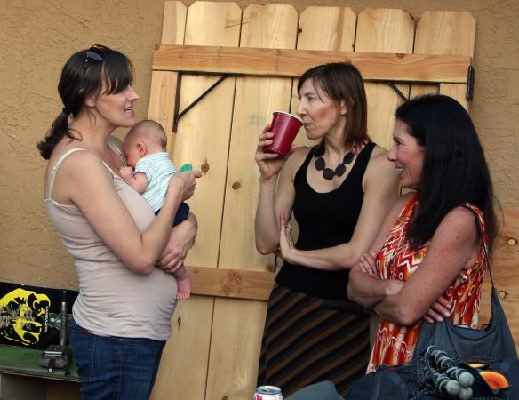 Cristen & Oliver Fick, Courtney and Desiree Astorga