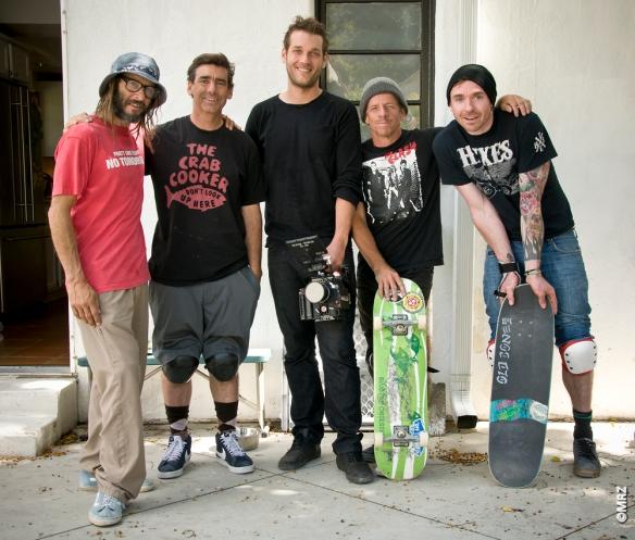 TA, Lance, Arto, me and Christian