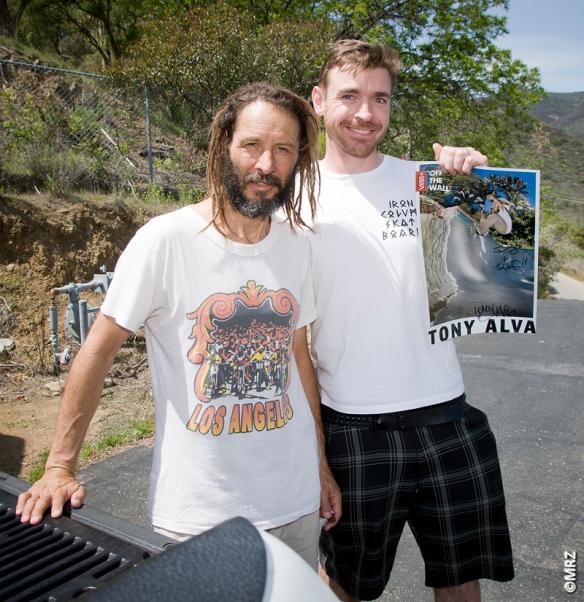 Tony Alva and Christian