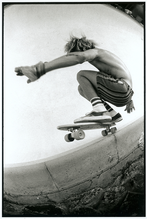 Craig Stecyk's TA Skateboarder interview photograph
