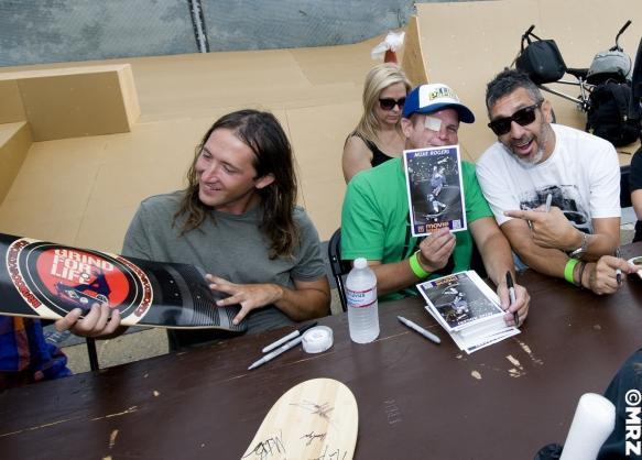 Mike Owen, Mike Rogers and Eddie Elguera