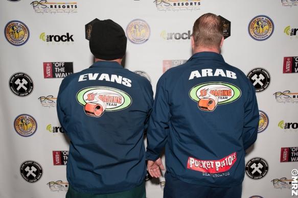 Steve Evans & Arab