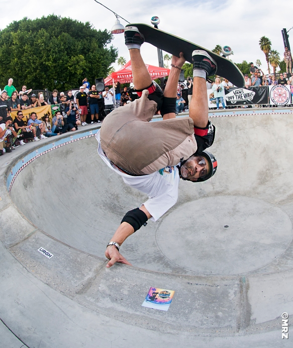Last trick of the day- Eddie Elguera FS Invert