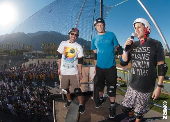 Eddie Elguera, Tony Hawk and Christian Hosoi