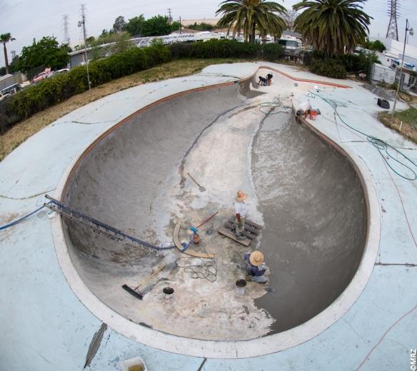 California Skateparks refurbishing