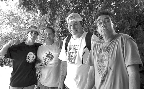 Scott Foss, Jim Howell, Jeff Grosso, Lance Mountain