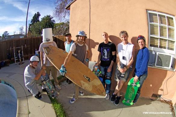 Rick, Lance, Kent, TA, BB, Deano, Me